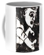 Pipe After Mikhail Larionov Black Oil Painting 4 Coffee Mug