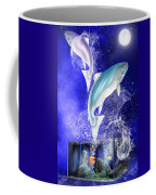 Pisces Coffee Mug by Mark Taylor