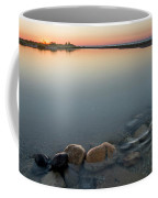 Platte River Sunset 2x1 Panorama Coffee Mug