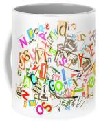 Play On Golf Words Coffee Mug