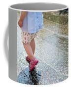 Playing In The Rain Coffee Mug