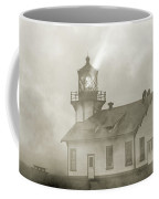 Point Cabrillo Lighthouse California Sepia Coffee Mug