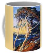 Point Lobos Trees 1919 Coffee Mug