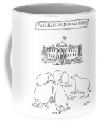 Polar Bear Invasion Coffee Mug