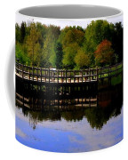 Pond Refletions Coffee Mug