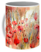 Poppy Fields Forever Coffee Mug