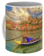 Porto 41 Across The River Coffee Mug by Leigh Kemp