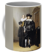 Portrait Of A Betrothed Couple  Coffee Mug
