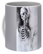 Portrait Of A Skeleton Coffee Mug