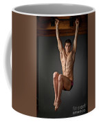 Portrait Of A Swim Prodigy. Coffee Mug