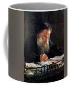 Portrait Of Leo Tolstoy Coffee Mug
