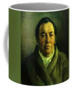 Portrait Of Nikolay O Ge Artist Father Coffee Mug