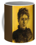 Portrait Of Tatyana Tolstaya Leo Tolstoy Daughter Coffee Mug