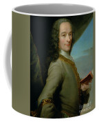 Portrait Of The Young Voltaire  Coffee Mug