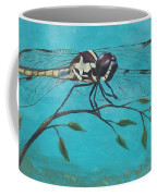 Praying Dragonfly Coffee Mug