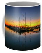 Pre-dawn Marina Colors Coffee Mug by Tom Claud