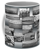 Provincetown Cape Cod Massachusetts Collage Bw 02 Coffee Mug