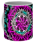 Psychedelic Mandala Coffee Mug by Becky Herrera