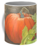 Pumpkin In Patch Coffee Mug