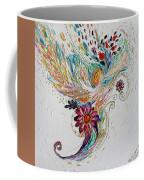 Pure Abstract #4. Trumpeting Angel Coffee Mug