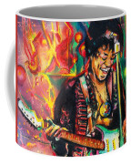 Purple Haze Coffee Mug by Eric Dee