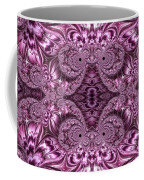 Purple Lilac Gardens And Reflecting Pools Fractal Abstract Coffee Mug by Rose Santuci-Sofranko