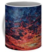 Purple Sun Coffee Mug
