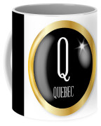 Q For Quebec Coffee Mug