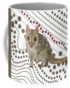 Q Is For Quoll Coffee Mug