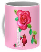 R Is For Rose And Robin Coffee Mug