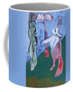 Rabbit By A Tree Coffee Mug