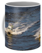 Racing To The Harbor Coffee Mug