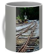Railroad Siding Tracks Coffee Mug