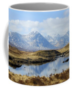 Rannoch Moor In Winter Coffee Mug