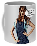 Real Eyes Coffee Mug