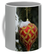 Red And Gold Ornament Coffee Mug