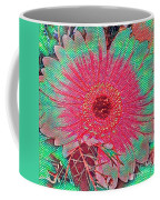 Red And Green Bloom Coffee Mug
