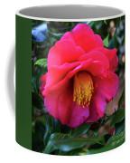 Red Camelia Coffee Mug