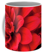 Red Dahlias Coffee Mug by Mark Shoolery