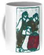 Red Detachment Of Women Painting Coffee Mug