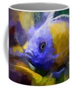 Red Fin Borleyi Cichlid Artwork Coffee Mug by Don Northup