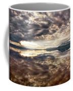 Red Rock Lake Sunrise Coffee Mug