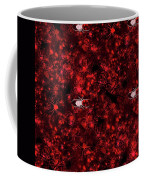 Red Spider Bokeh Pattern Coffee Mug
