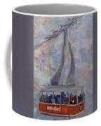 Red Tram Coffee Mug