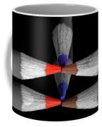 Reflecting Colour Pencils Coffee Mug by Garvin Hunter