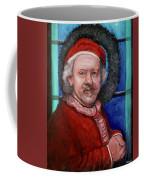 Rembrandt Santa Coffee Mug