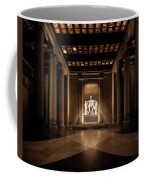 Remembering Mr. Lincoln Coffee Mug by Chris Lord