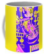 Retro Race Day Coffee Mug