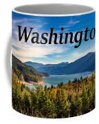 Riffe Lake, Washington Coffee Mug