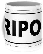 Ripon City Nameplate Coffee Mug
